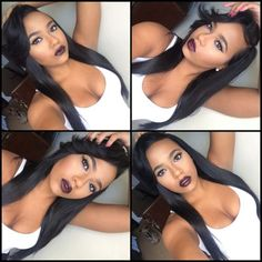 Weave Hairstyles, Pretty Hairstyles, Straight Hairstyles, Black Hairstyles, Hairdos, Love Hair, Gorgeous Hair, Curly Hair Styles, Natural Hair Styles