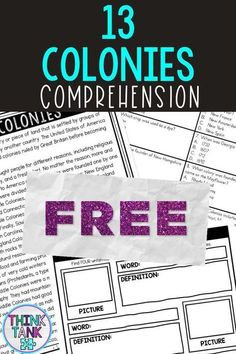 Ensure understanding with this 13 Colonies Close Reading Comprehension Activity. Students will examine the reading passage multiple times to complete each of the five tasks using the non-fiction, informational text. The best part…NO PREP for teachers. Just Print and Go! #13Colonies #ThinkTank #USHistory #HomeSchool #ReadingPassages #4thgrade #5thgrade #6thgrade #CloseReading #MiddleSchool #UpperElementary #TeachersPayTeachers 4th Grade Social Studies, Social Studies Activities, History Activities, 4th Grade Ela, 5th Grade Reading, Reading Comprehension Activities, Reading Passages, Middle School History, Upper Elementary Resources