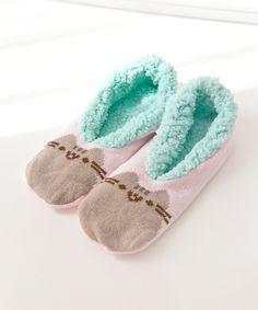 Pusheen slipper socks
