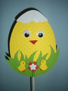 идея за картичка Easter Art, Bunny Crafts, Easter Crafts For Kids, Craft Stick Crafts, Preschool Crafts, Paper Crafts, Spring Coloring Pages, Easter Activities For Kids, Diy Ostern