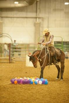 Top 10 horse obstacles you wish you had. Article. Balloon Obstacle, Courtesy of Sidewinder Media