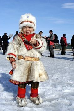 Sami Child from Norway