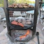 Are you looking for a nice outdoor cooking idea for your backyard? Why not build a fire pit grill! There are many great reasons to build a fire pit grill. Fire Pit Grill, Diy Fire Pit, Bbq Grill, Fire Pits, Fire Pit Cooking Grill, Oven Cooking, Grilling Corn, Metal Fire Pit, Grill Grates