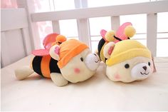 Find More Toys Information about 1Pcs  10cm 15cn Cute Small  bees doll plush cartoon figures Toys Cartoon Toys Hobbies Stuffed Dolls Stuffed Plush Animals Little,High Quality toy bee,China toy simulator Suppliers, Cheap toy gear from ABEY Store on Aliexpress.com
