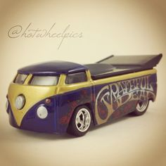 "Volkswagen Drag Bus - 2014 Hot Wheels ""Pop Culture"" Grateful Dead series…"