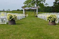 Check out this beautiful winery in Sparta, ON Quai du Vin is a great wedding venue for an outdoor wedding Something Borrowed Rentals Beautiful Wedding Venues, Sidewalk, Outdoor Structures, Check, Walkway, Walkways