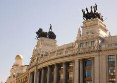 Sede BBVA en calle Alcalá, Madrid.
