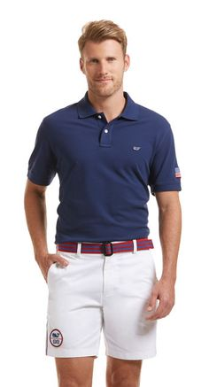 Slim Fit Flag Patch Polo from Latest Mens Fashion, Men's Fashion, Latest Clothes For Men, Men's Grooming, Latest Trends, Polo Ralph Lauren, Polo Shirt, Flag, Menswear