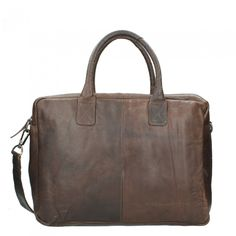 Chesterfield Casual Shoulderbag brown | Travelbags.nl