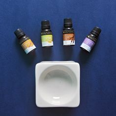 Create a warm, soothing and refreshing aroma  with 2 drops each of Lavender, lemon, Orange and Cinnamon Essential Oils.