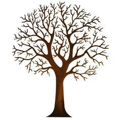 metal tree on wood sign - Google Search