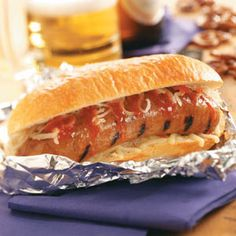 Game Day Brats Recipe from tasteofhome.com
