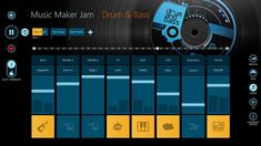 I love this app! It is called Music Maker Jam