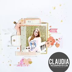 12 X 12 SCRAPBOOK LAYOUT
