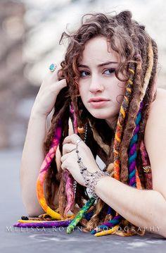 curly dreaded goddess