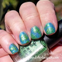 Mckfresh Nail Attire Planeteers Collection swatches.