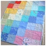 Another Charm Square Quilt - The Crafty Mummy