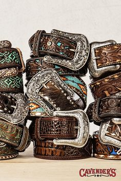 Belts on belts on belts