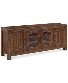Avondale Media 72 TV Stand Only At Macys Tv FurnitureMinimalist LivingHome Living RoomTv StandsHome IdeasEntertainment CenterDenverBasementDining