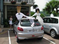 ... la voiture balais  Voiture balai  Pinterest  Mariage et Photos