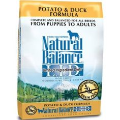 Natural Balance Grain Free Limited Ingredient Diets Potato & Duck Formula Dry Dog Food 26lb @ For you to view further for this item, visit the image link. (This is an affiliate link and I receive a commission for the sales)