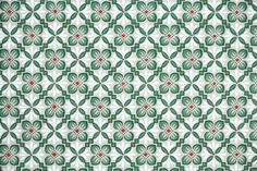 Vintage Wallpaper Geometric from Hannah's Treasures authentic 1940s wallpaper