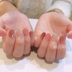 かんたん☆ネイルラボ on in 2019 Happy Nails, Mode Blog, Gel Nail Designs, Simple Nails, Love Nails, Nail Arts, Trendy Nails, Manicure And Pedicure, Natural Nails