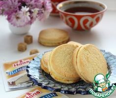 """Печенье с творогом """"Шолпан"""" - кулинарный рецепт"""