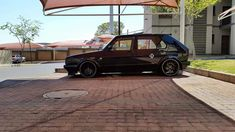 Vw Classic, Black Cars, Golf 1, Vw Cars, Mk1, Cannon, Volkswagen, Automobile, Motorcycle