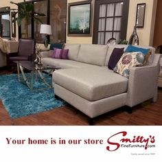 Pairing both colours together lifts yours spirits and calms your soul bringing your room into relaxed sophistication. Sofa, Couch, Your Design, Dreaming Of You, Colours, Furniture, Home Decor, Settee, Settee