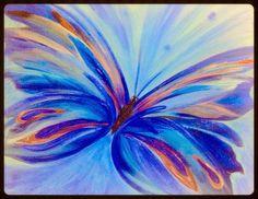 Acrylic Butterfly art by D. Starbuck