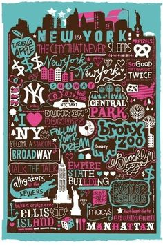 New York New York...I've always dreamt of living there