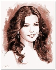 Catherine Zeta-Jones by shahin