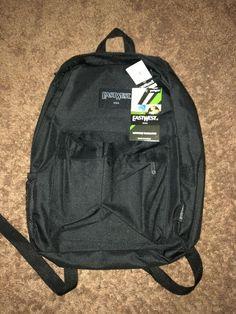 a67b218224 Classic Simple East West U.S.A School Backpack-Solid Colors (Black    Charcoal)