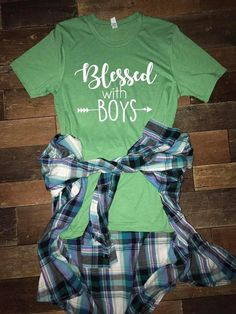 Blessed With Boys Tee