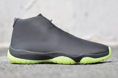 #AirJordan Future Grey Volt #sneakers