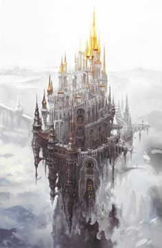 eniphina: The Holy See of Ishgard Slightly larger: 1/2 #Art - #Art #LoveArt…