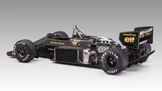 """itsbrucemclaren: """"Lotus John Player Special - powered by Renault Ayrton Senna """""""