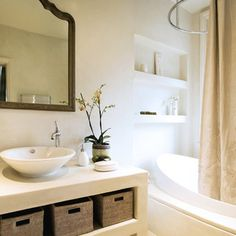 Architecta Interiors - eclectic - bathroom - london - A-Interiors LLC