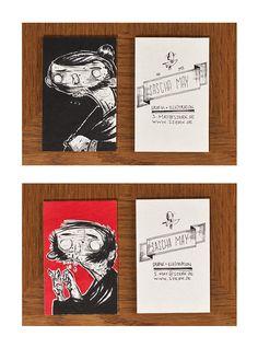 Sascha May, Grafik + Illustration, Geschäftsausstattung