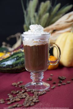 Sugar & Spice with 1 oz SMIRNOFF® Whipped Cream Flavored Vodka, 6 oz coffee, 1 sugar cube, Whipped Cream for garnish. Muddle sugar cube with SMIRNOFF® WHIPPED CREAM Flavored Vodka and add coffee into a coffee mug. Garnish with grated cinnamon. #Smirnoff #drink #recipe #fall #whippedcream #coffee #hotdrink