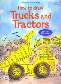 How to Draw Trucks & Tractors (Usborne Actys)