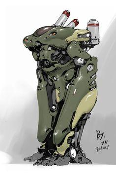Arte Robot, Robot Art, Cyberpunk Character, Cyberpunk Art, Character Concept, Character Art, Character Design, Robot Concept Art, Ex Machina