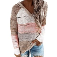 Pullover Hoodie, Pullover Sweaters, Hooded Sweatshirts, Hoodies, Hooded Sweater, Long Sleeve Sweater, Batwing Sleeve, Boutique Fashion, Trend Fashion