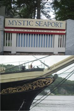 MYSTIC SEAPORT: Living history museum consisting of a village, ships and exhibits depicting coastal life in New England in the 19th century. (Mystic, Connecticut - research trip for Carving a Future)