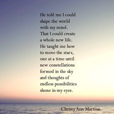 Endless Possibilities poem.