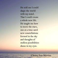 Endless Possibilities poem.