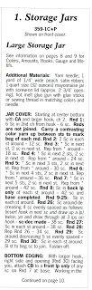 Crochet En Acción: Set de Cocina - Parte 1 Jar Storage, Math Equations, Words, Crocheting, Ideas, Cooking, Objects, Patterns, Blue Prints