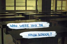 Who were you in high school? Find out what other people are saying: social.giftmovie.com @GiftMovie #Past High School Memories, My High School, Mystery Film, Entertaining, People, People Illustration, Funny, Entertainment