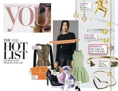 One of our best selling Chelsea bracelets is on the 'Hot List' page of The Mail's YOU magazine! Have you got yours yet?